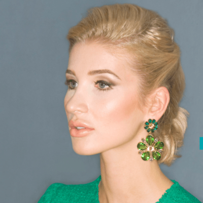 earrings - photoshoot